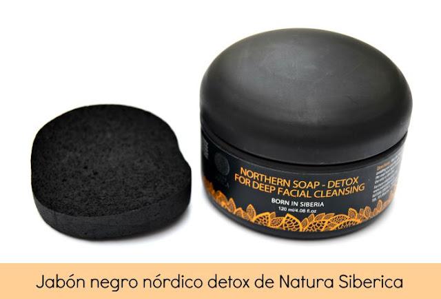 jabón negro detox