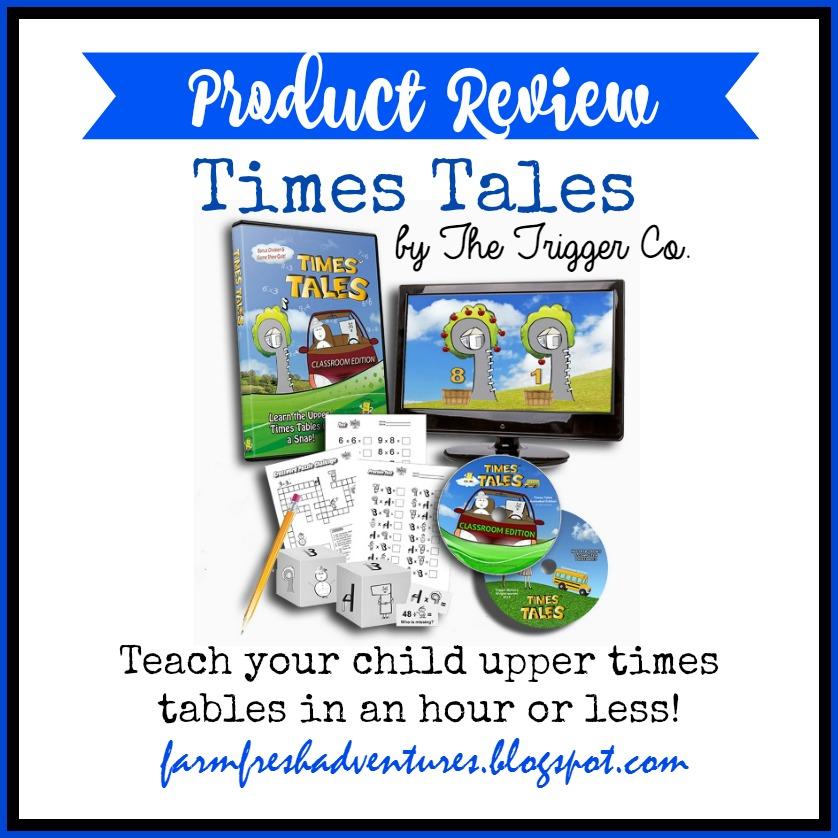 Farm Fresh Adventures Times Tales Teaching Times Tables