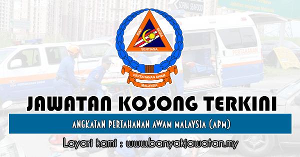 Jawatan Kosong Kerajaan 2019 di Angkatan Pertahanan Awam Malaysia (APM)