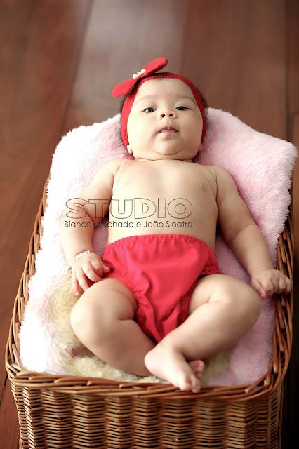 fotos book mensal para bebes