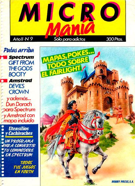 Revista Micromanía Número 9