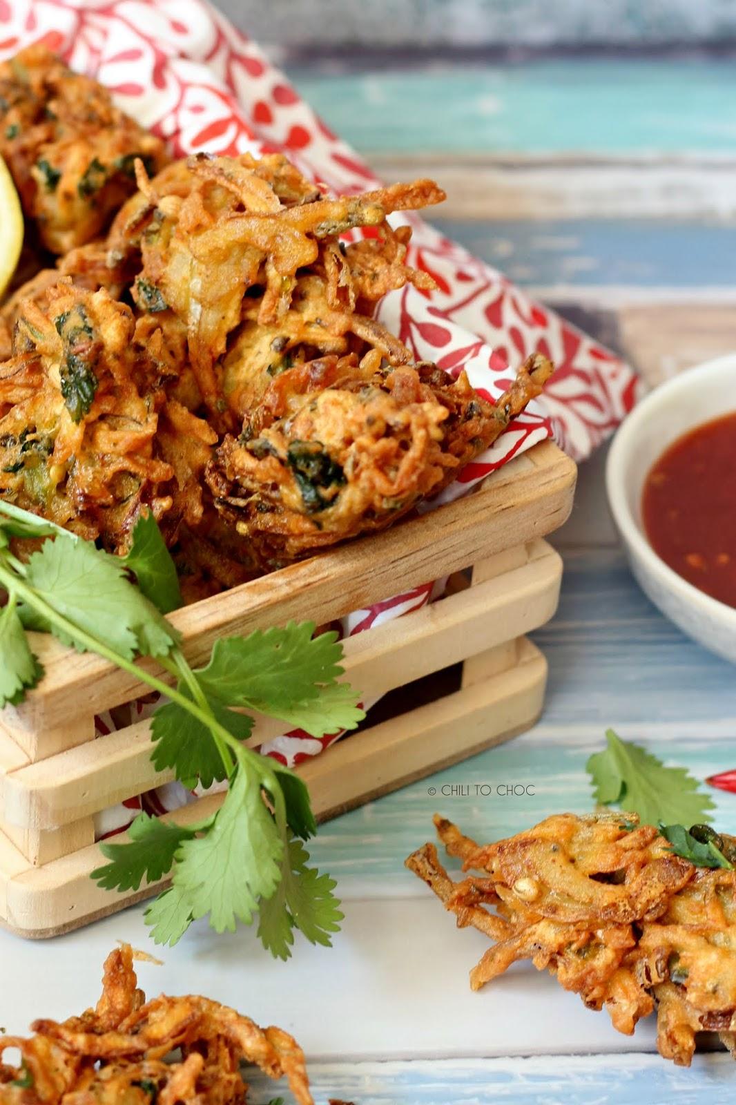 Super-Crispy Vegetables Pakoras (Fritters)