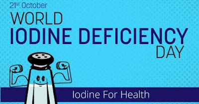 World Iodine Deficiency Day 2020
