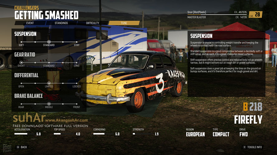 Free Download Game PC Wreckfest Final Full Version