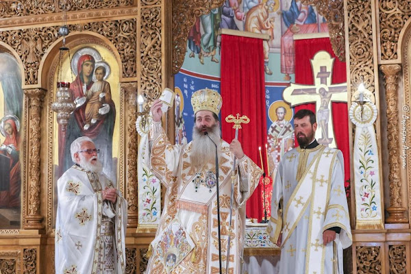 Χειροτονία ενός νέου κληρικού του Δημητρίου Νεράϊδα