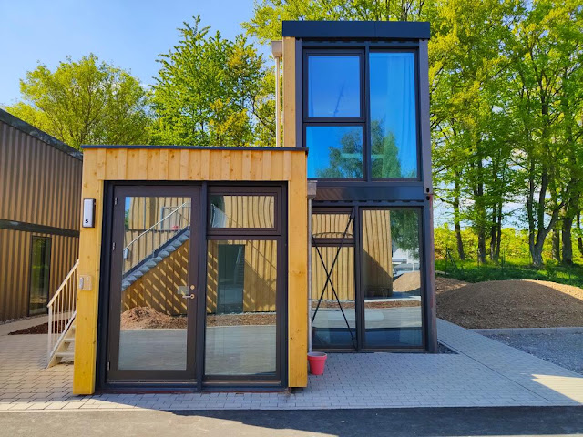 Shipping Container Tiny Homes Village, Germany 2