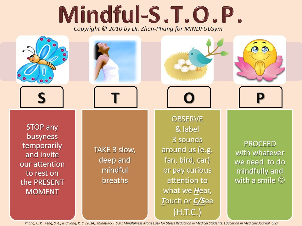 MINDFULGym: Mindful-S.T.O.P.: Mindfulness Made Easy Relaxing Sounds