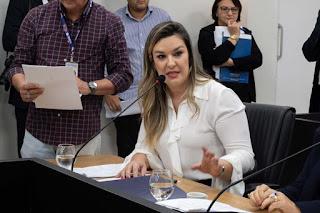 Mulheres recebem 25% a menos e Comissão da Mulher realiza ação de conscientização junto a empresas e governo, destaca Camila