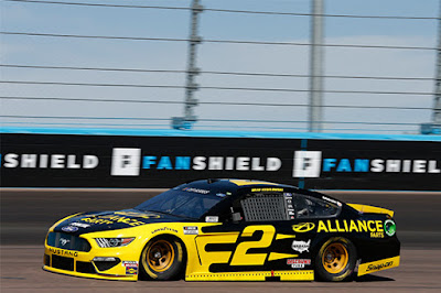 The Stage 2 winner, Brad Keselowski led for a total of 82 laps.  #NASCAR