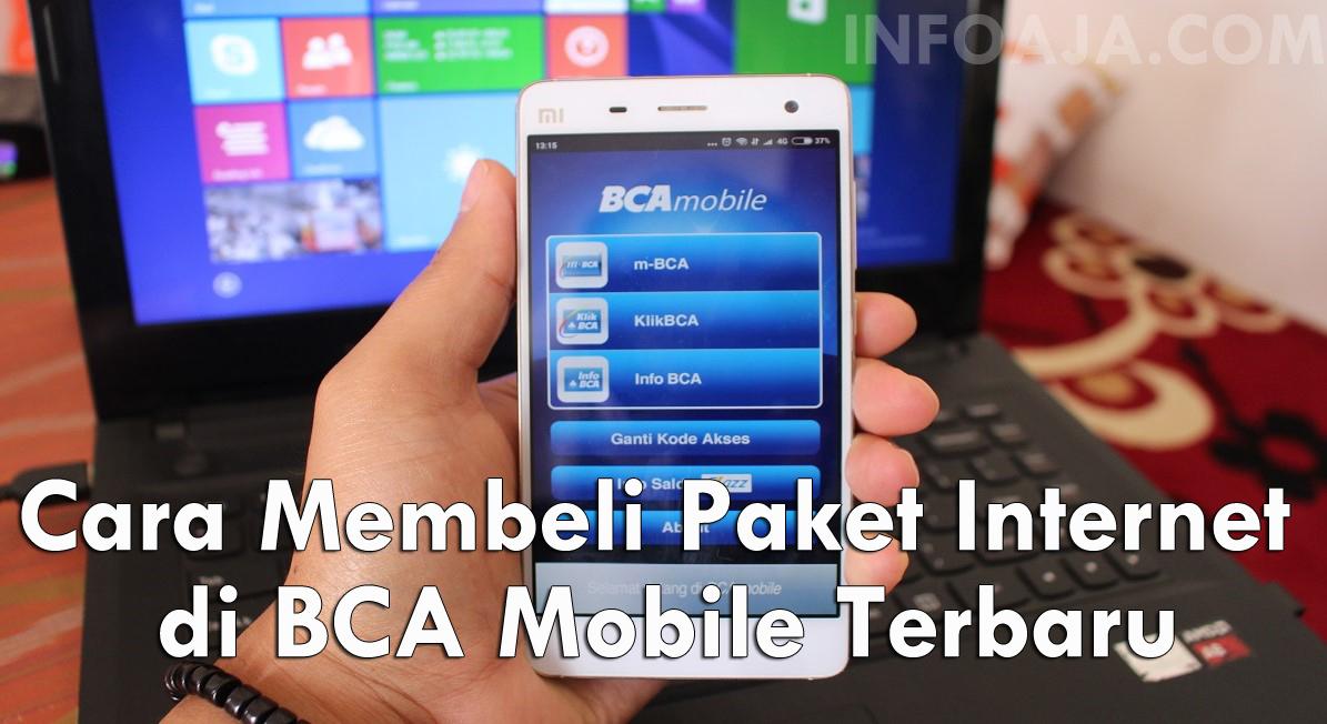 Cara Membeli Paket Internet di BCA Mobile Terbaru