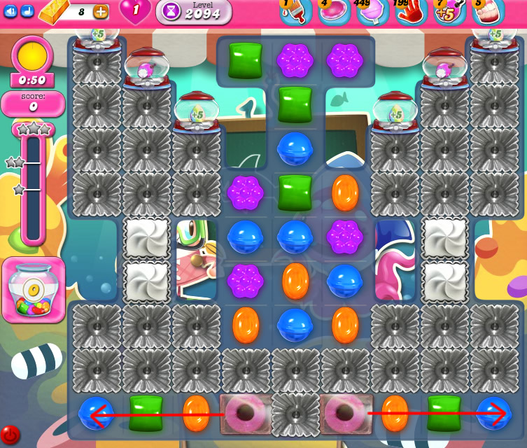 Candy Crush Saga level 2094