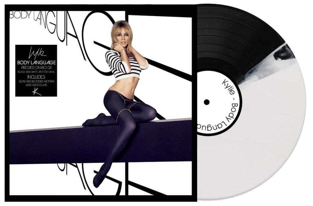 Kylie Fanmade Art Body Language Vinyl