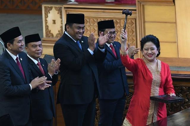 Puan Maharani, Perempuan Pertama Jadi Ketua DPR-RI