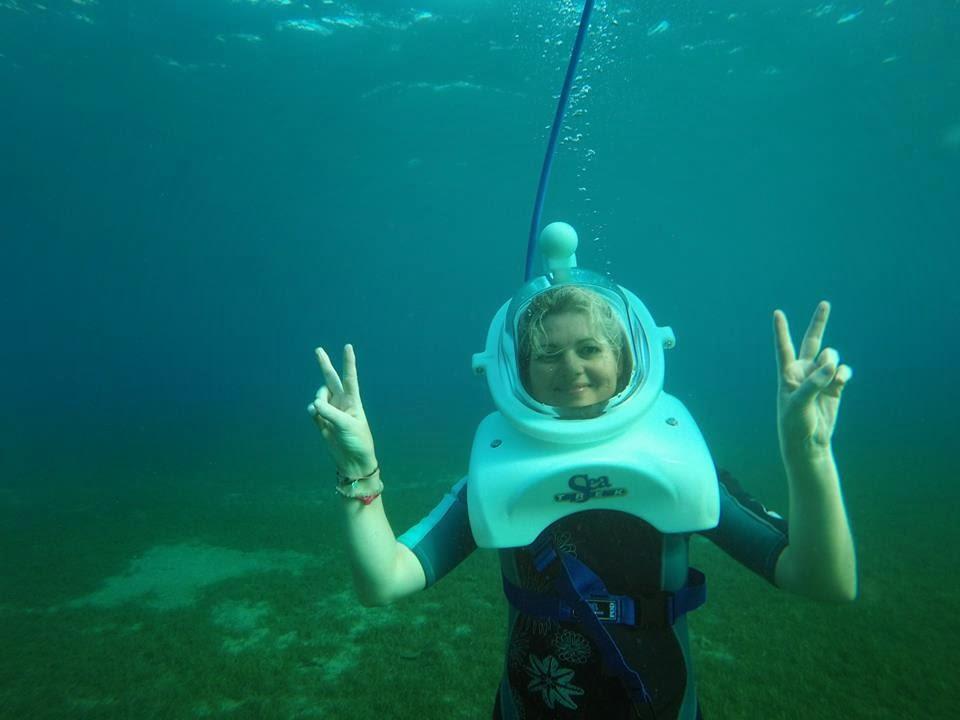 Aquatique Aventure Guadeloupe image sous marine