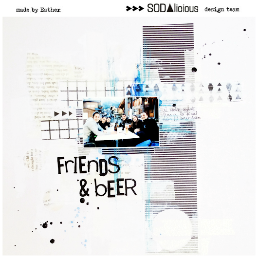 SODAsketch#11 - Friends & Beer
