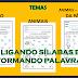 LIGANDO ORDENADAMENTE E FORMANDO AS PALAVRAS - 1º ANO/ 2º ANO