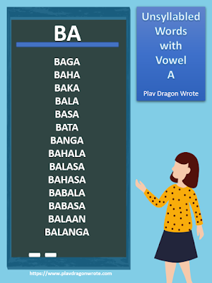 Unsyllabled Words with the Big Vowel Letter A - Effective Reading Guide for Kids