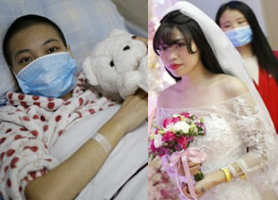 blood cancer patient marries herself