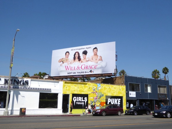 Will Grace season 9 billboard