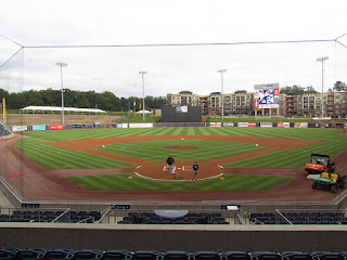 Home to center, Coolray Field