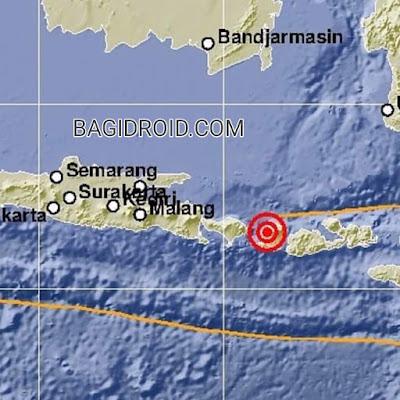 Berpusat di lombok timur gempa bumi 5 agustus 2018