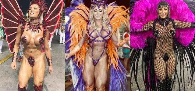 Juju Salimeni Carnaval 2020