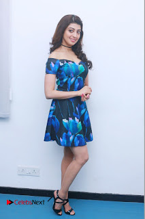 Actress Praneetha Latest Stills in Floral Short Dress at Enakku Vaaitha Adimaigal Press Meet  0014.jpg