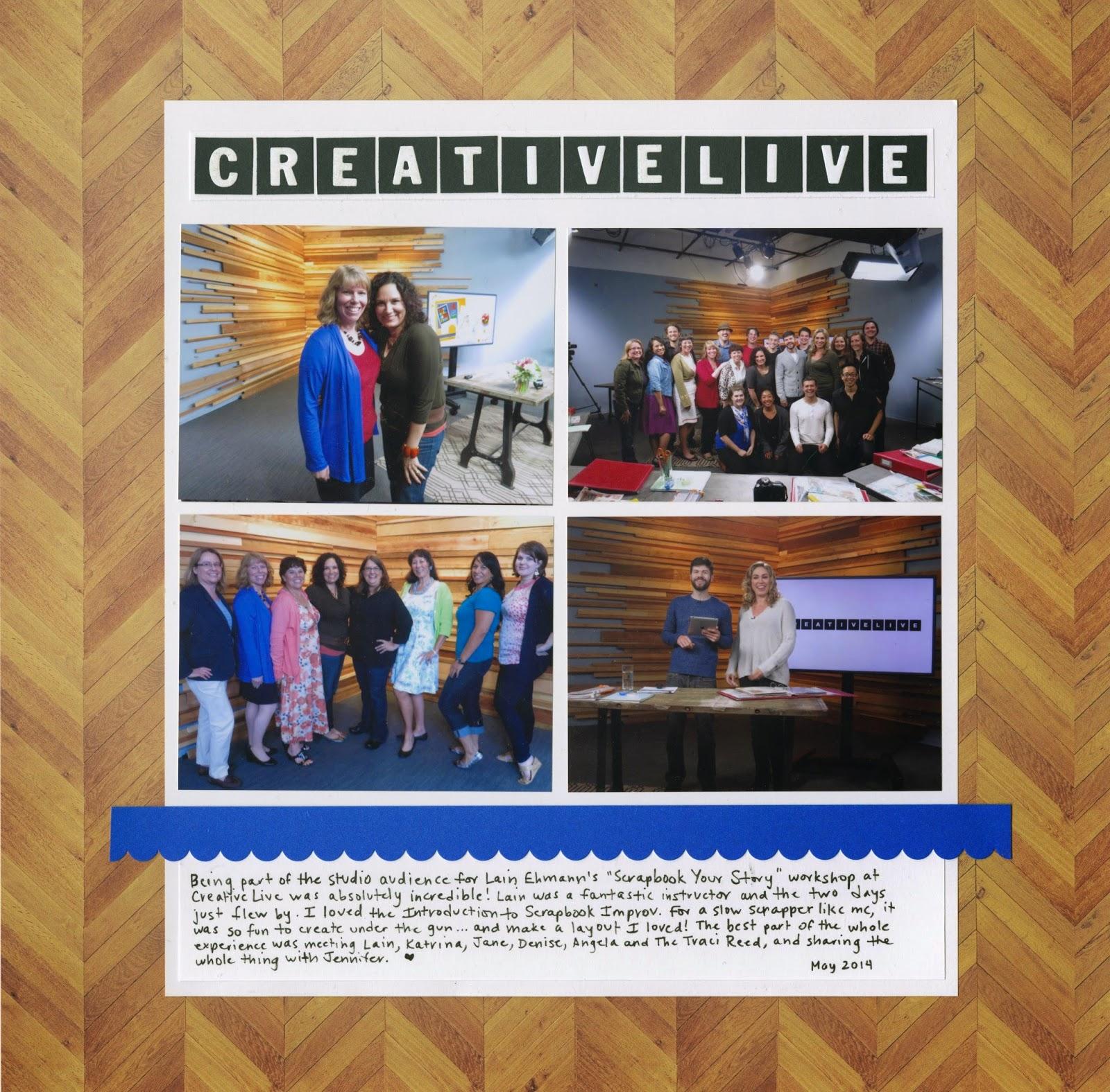 Cindy Derosier My Creative Life Creativelive Scrapped