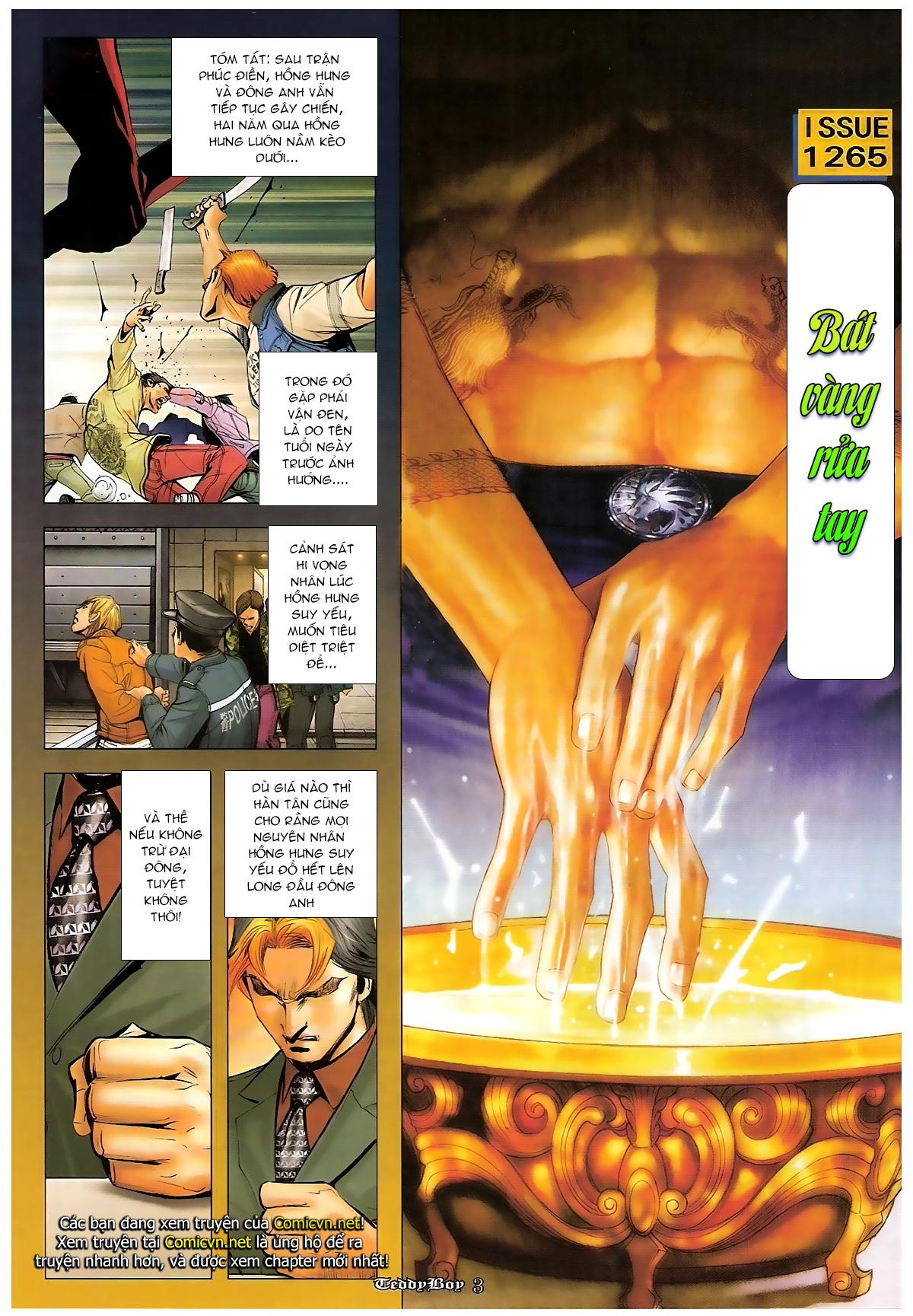 Người Trong Giang Hồ - Chapter 1265: Bát vàng rửa tay - Pic 2