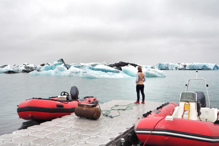 Icebergs de Jökulsárlón en Islande