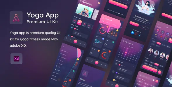Best Yogaa App Premium UI Kit