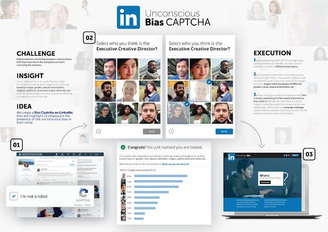 LinkedIn Spec Ad Tackles Unconscious Bias Problem