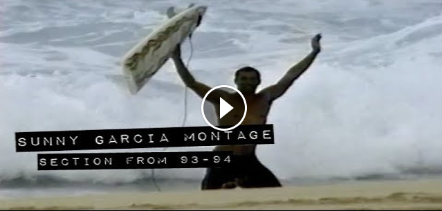 SUNNY GARCIA montage from Early 90s The Momentum Files
