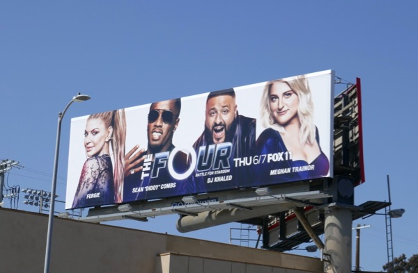 The Four season 2 billboard