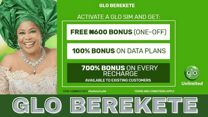 How To Migrate To Glo Berekete Plan