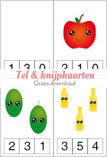 Tel & knijpkaarten - gratis download