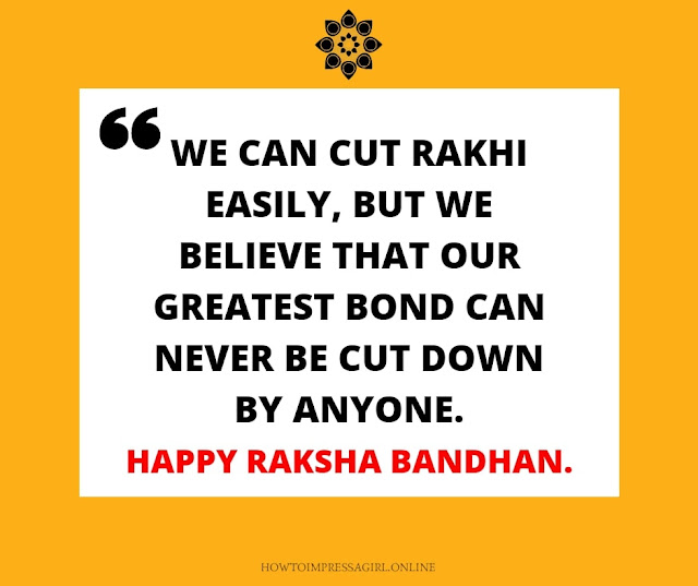 Raksha Bandhan Quotes for Brother, Raksha Bandhan Wishes to Brother