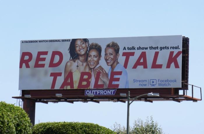 Red Table Talk Facebook Watch Emmy FYC billboard