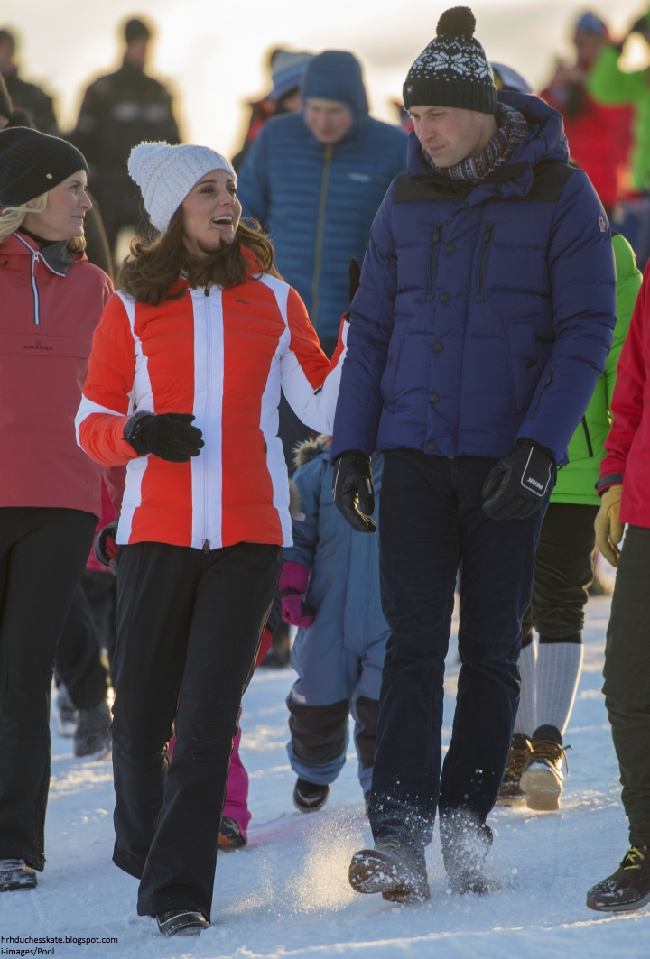 Duchess Kate: Snowballs & Skiing: A Fitting End to William
