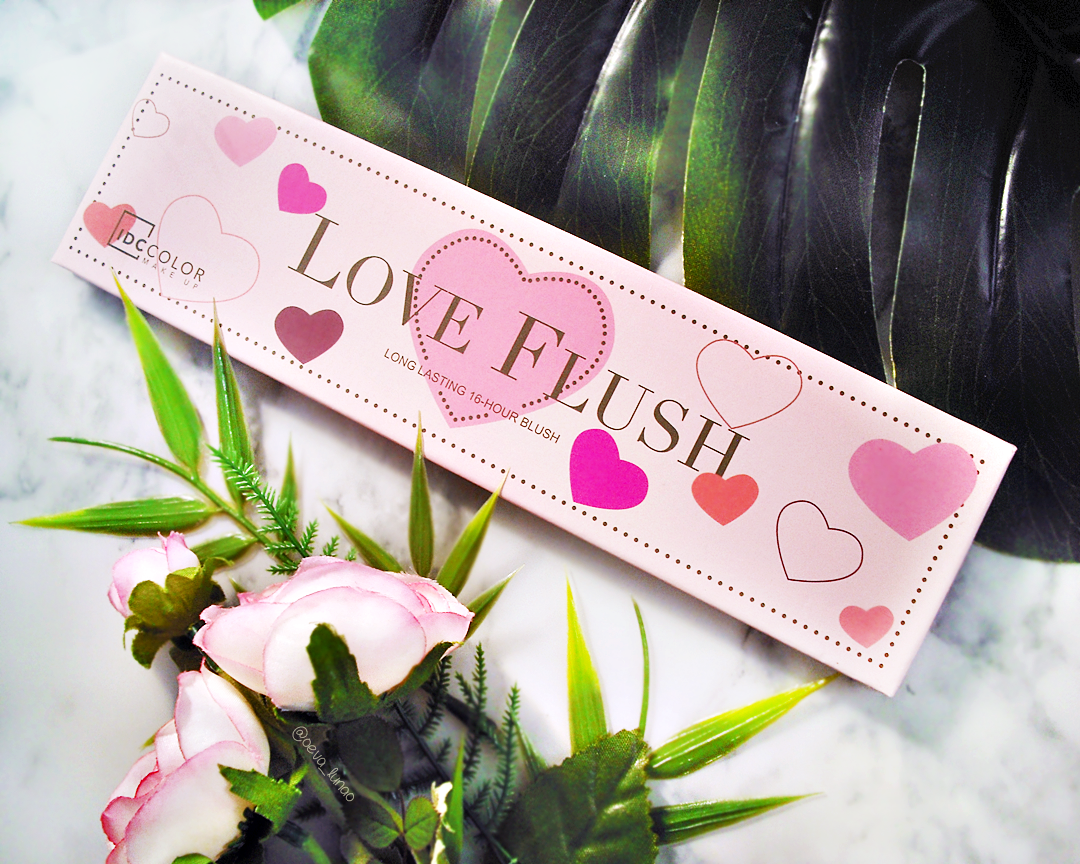Love Flush blush palette review swatch - Love Hangover, Baby Love, I will always love you, How deep is your love, Justify my love - review - swatch