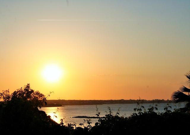 sole, tramonto, mare, cielo,