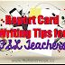 Report Card Writing Tips for FSL Teachers