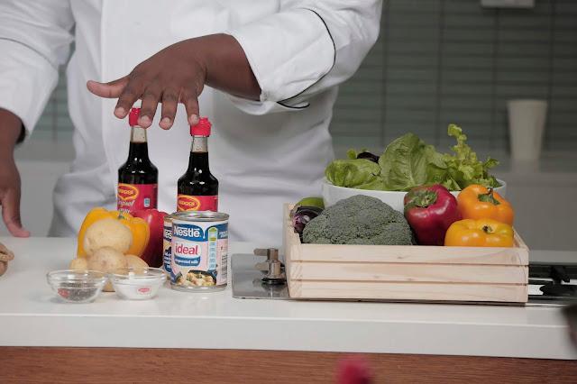 Creative #Cooking with @NestléESAR #NestleRecipesWithLove #MaggiLazenby #NestleSweetenedCondensedMilk @chefmbombi22