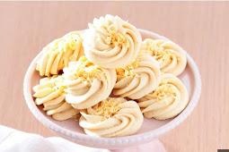 Resep Semprit Sagu Kacang Keju