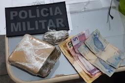3º BPM prende passageiro com droga em coletivo intermunicipal