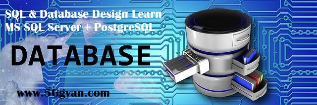 SQL & Database Design Learn MS SQL Server + PostgreSQL