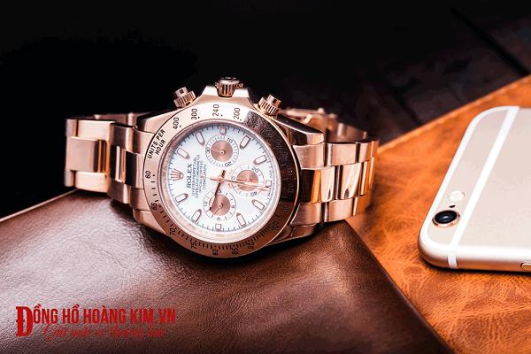đồng hồ nam dây thép rolex