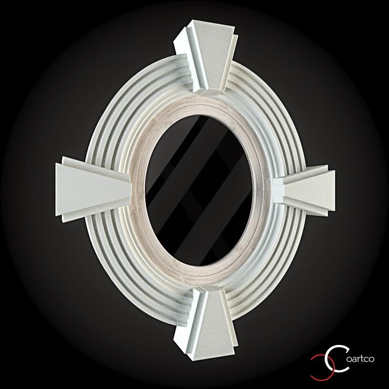 Ornameate Geamuri Rotunde Exterior, fatade case cu profile decorative polistiren, profile fatada,  Model Cod: WIN-012