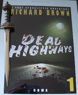 Portada del libro Dead Highways: Coma, de Richard Brown