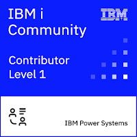 IBM Community Contributor Level 1